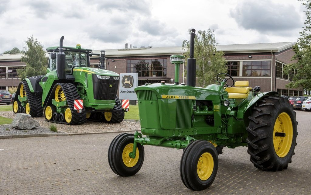 John Deere celebrates 50 years trading in UK