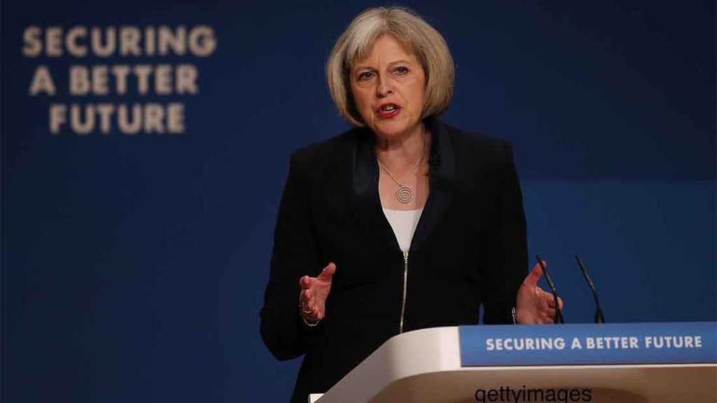 Theresa May hints at changes to food labelling laws as she sets out post-Brexit vision