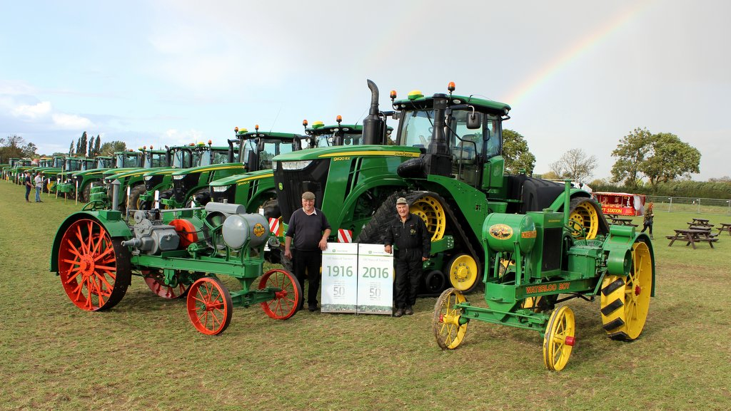 Deere old and new