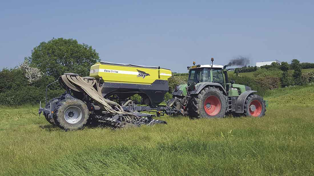 User Story: Focus on soil health drives drill choice