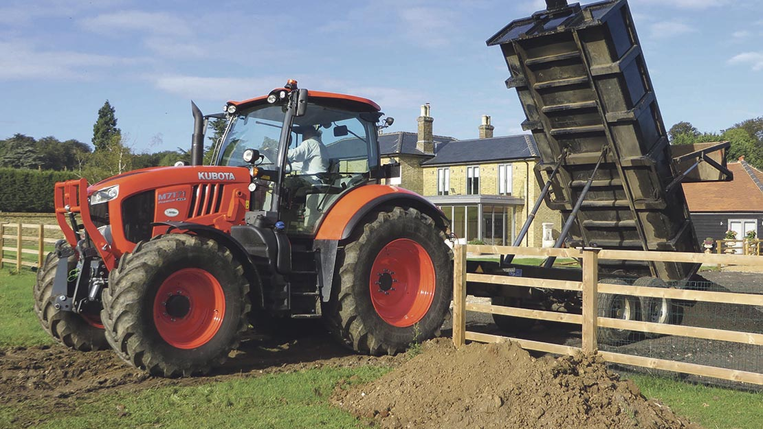 User Story: Contractor takes plunge with new tractor model