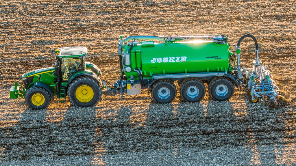 Joskin collaborates with John Deere for real time slurry analysis