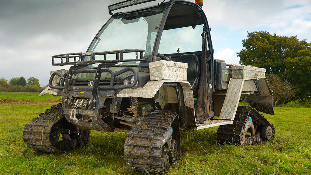User Story: Tracked Gator UTV treads lightly