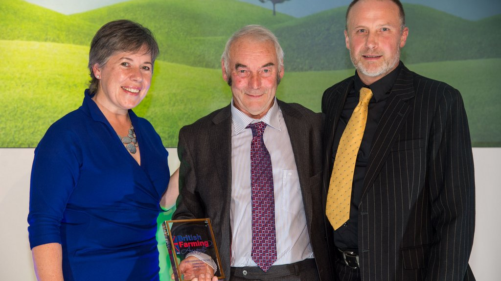 British Farming Awards winners 2016 #BFA16 Arable