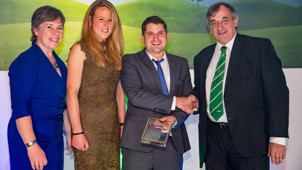 British Farming Awards winners 2016 #BFA16 New Entrant