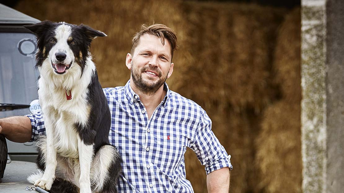 Jamie's best friend and co-presenter of Friday Night Feast, Jimmy Doherty.
