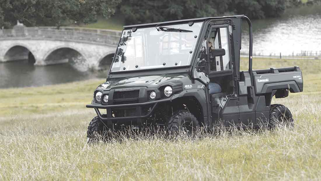 On-test: loads of space from Kawasaki's updated Mule UTV