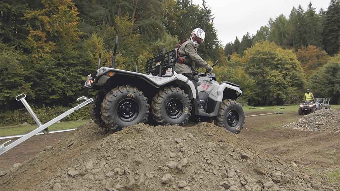 Can-Am on a mission with its ATV offering