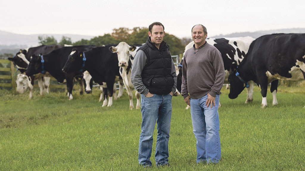 Father and son team reaps rewards of dairy investment