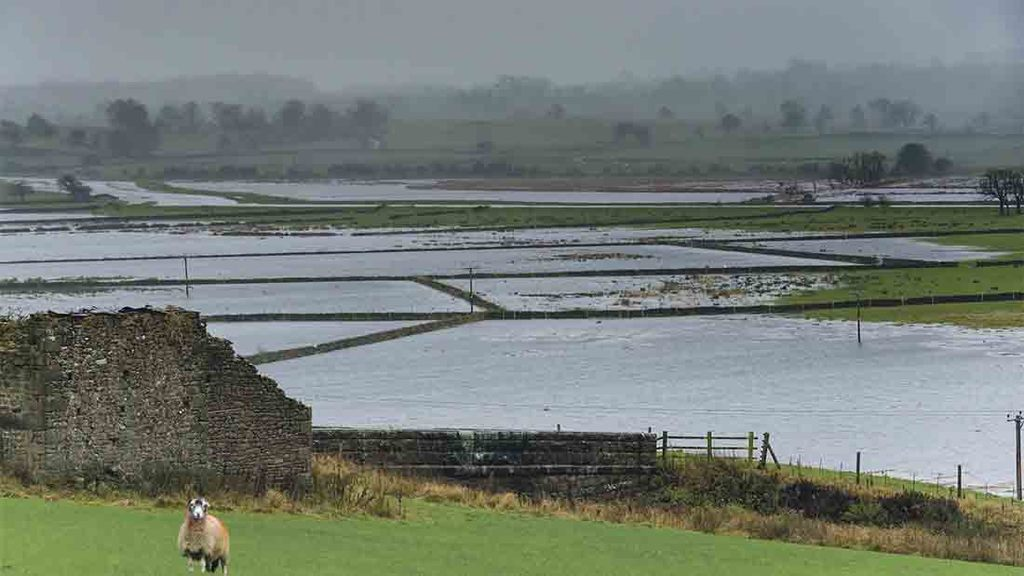 Farmers flooded by Storm Desmond still waiting for emergency money one year on