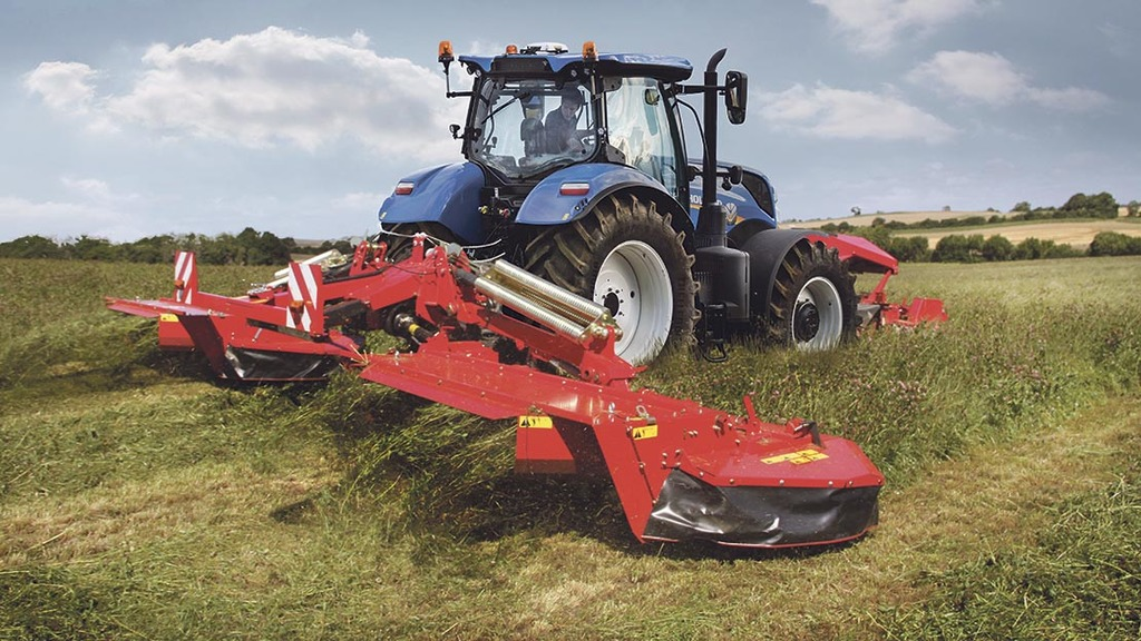New Holland benefits from CNH Industrial's Kongskilde acquisition
