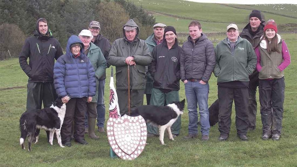 Ceredigion, the winning team at the Three Counties trial