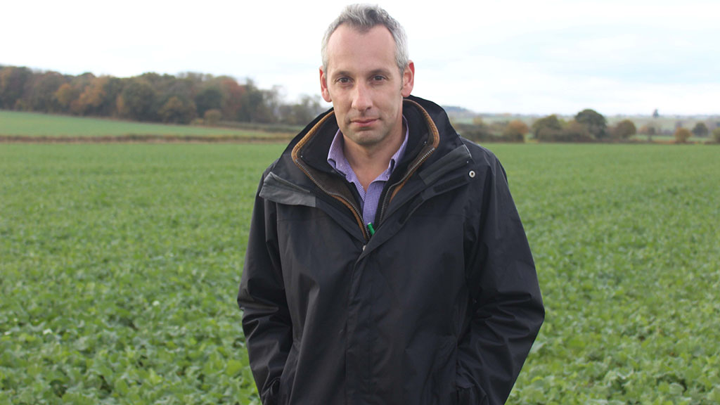 VIDEO: Crop walk and talk...with Luke Hardy