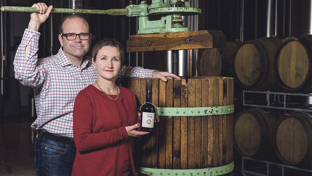 Couple work with farmers to create champion cider