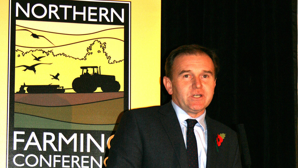 George Eustice MP said farming regulations needed to be sharper and less bureaucratic