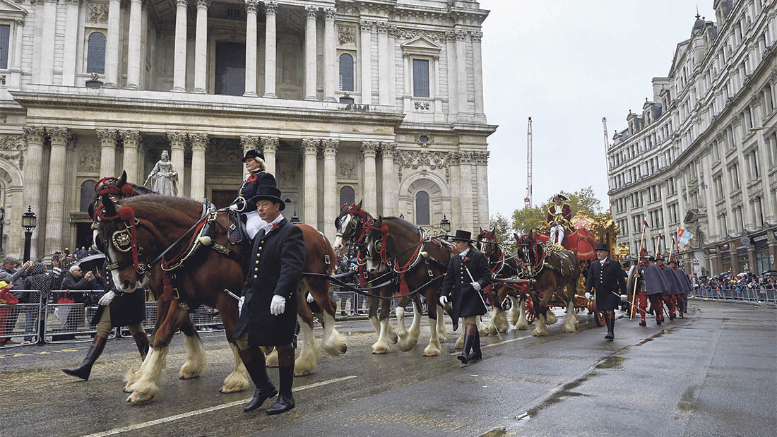 Eight young farmers chosen to promote British farming in 802nd Lord Mayor's Show