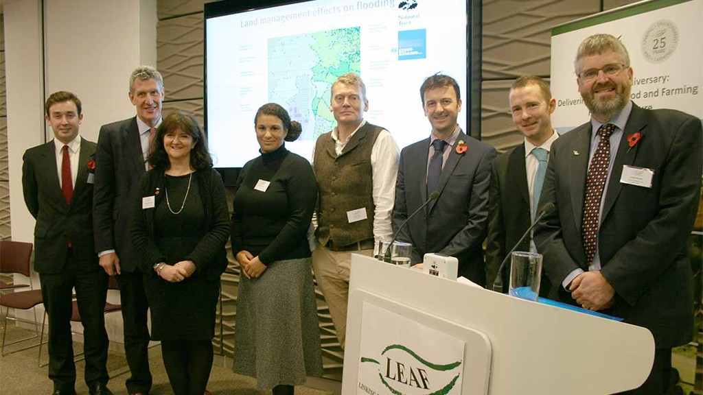 Natural Capital and farming like 'peas in a pod'