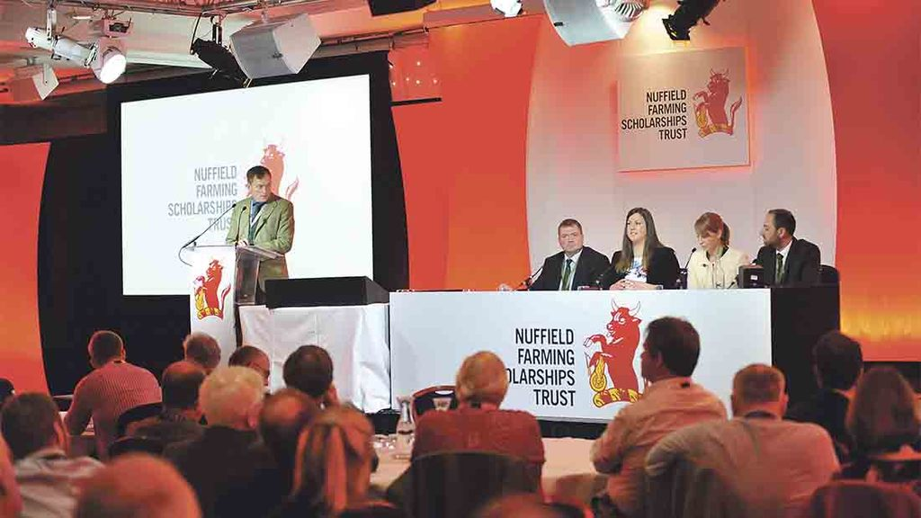 Arable sector's Nuffield scholars announced