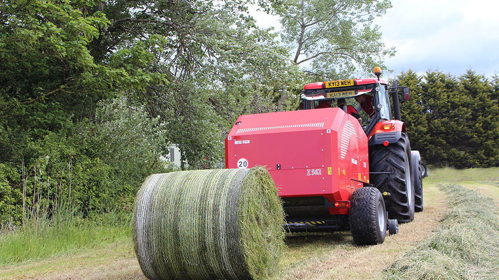 User story: Budget baler helps take control of forage production
