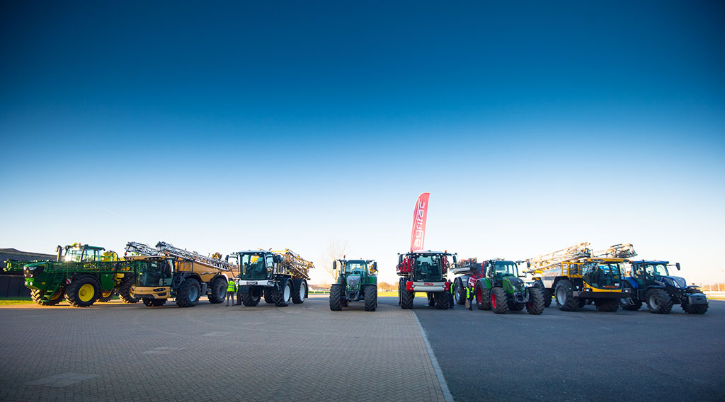 CropTec Show 2019: Biggest line-up yet for CropTec sprayer demonstrations