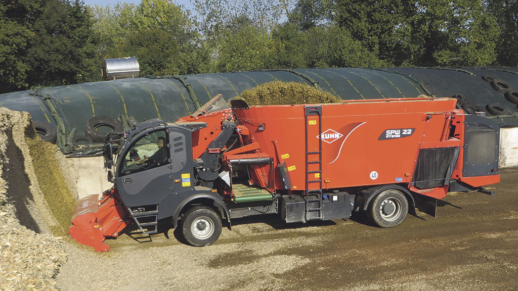 Kuhn shows off its latest self-propelled diet feeders