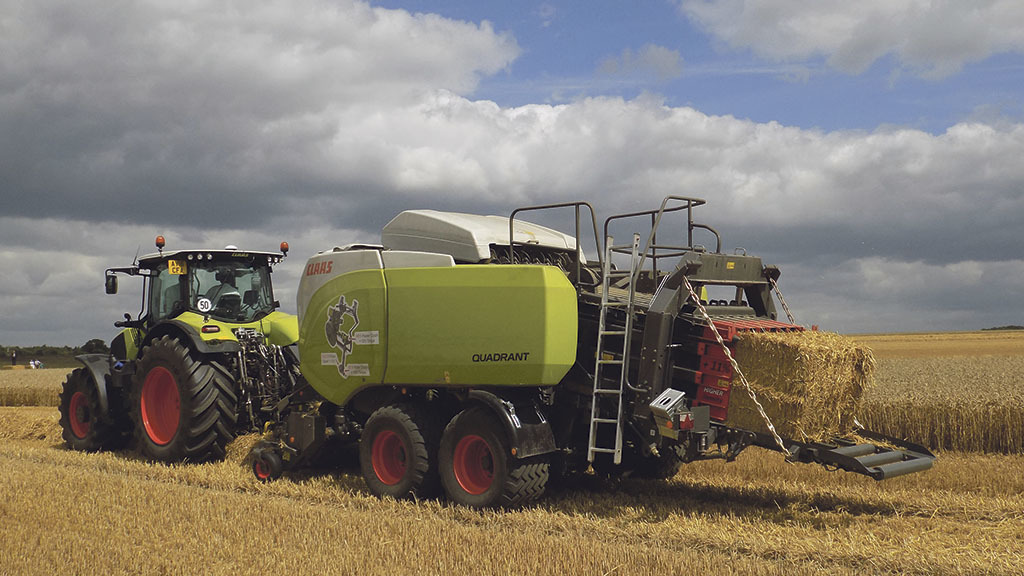 'The updates are welcome additions' - Claas' latest Quadrant baler pushed to the max
