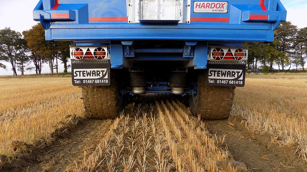 High pressure stubble run