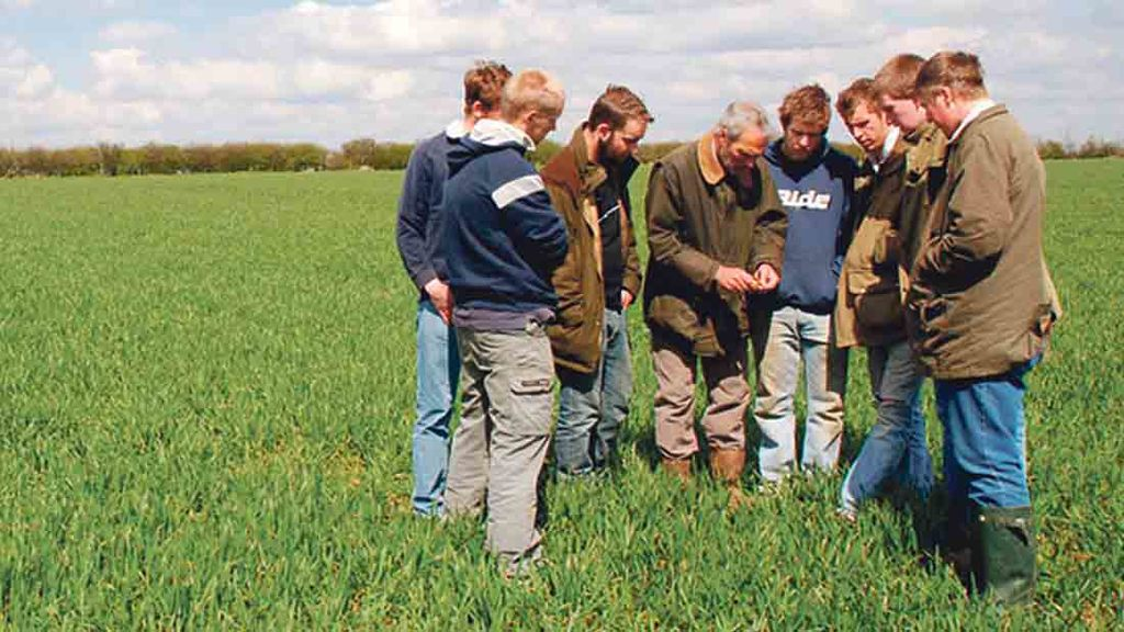 Agriculture student numbers on the up despite overall student numbers falling
