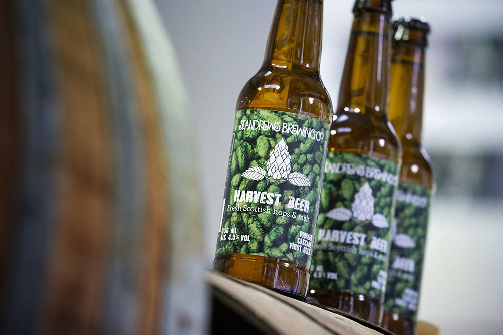 Wholly Scottish beer launched bySt Andrews Brewery and James Hutton Institute