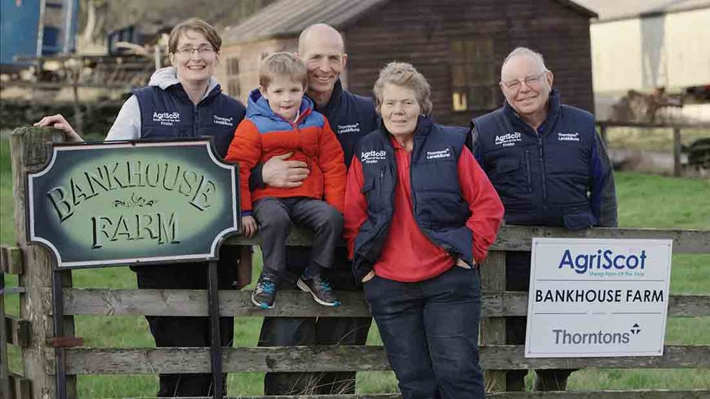 Scottish family farm takes top award