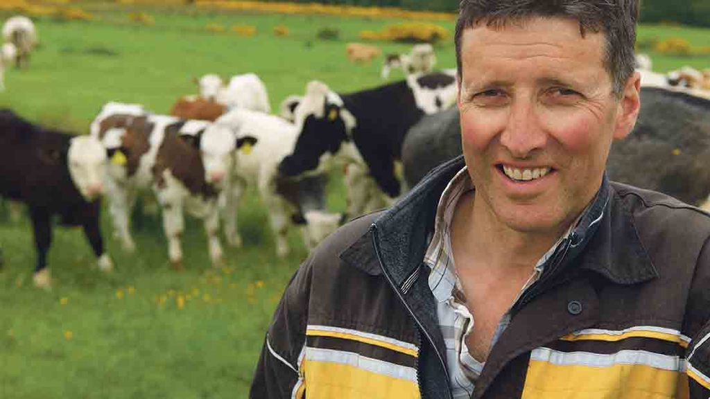 Robbie Newlands: 'The cows have also been enjoying the mild weather and are clean underfoot'
