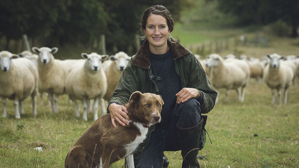 Marie Prebble: 'It is good to be improving my shearing with an eye on my more experienced colleagues'