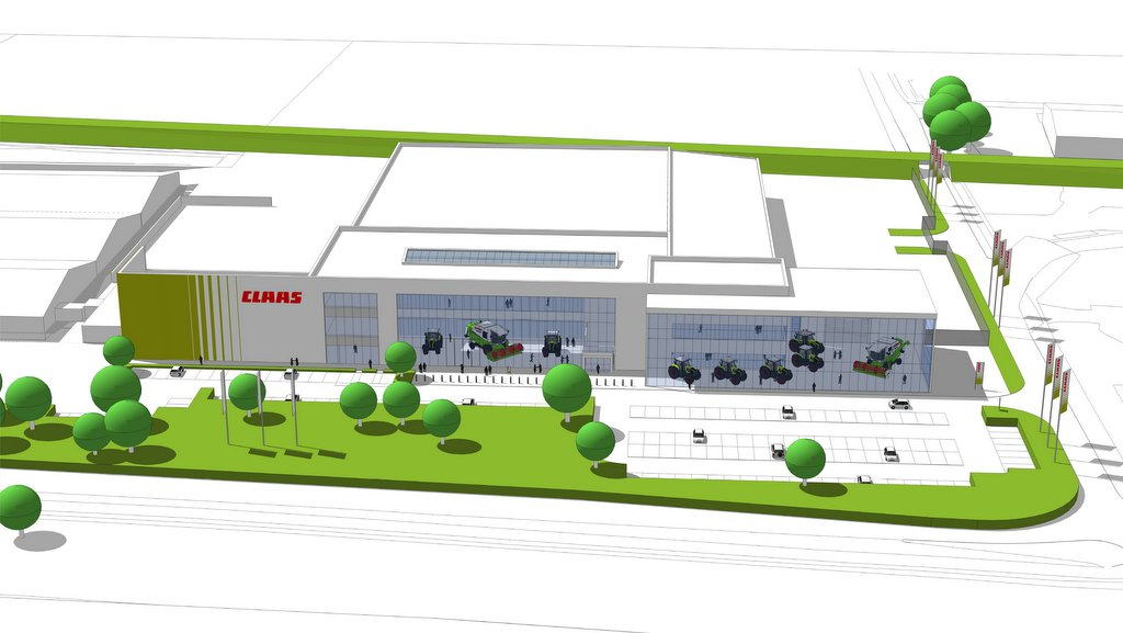 Dealer news: Claas set to construct new UK headquarters