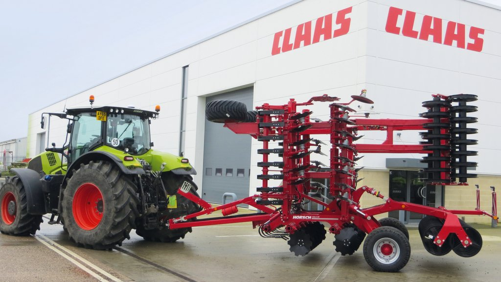 Dealer news: Claas bolts Horsch onto Southern dealer network