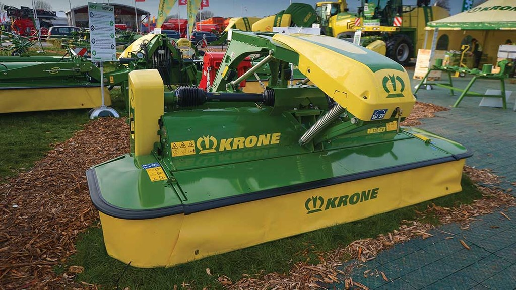 LAMMA 2017: Grassland and forage equipment