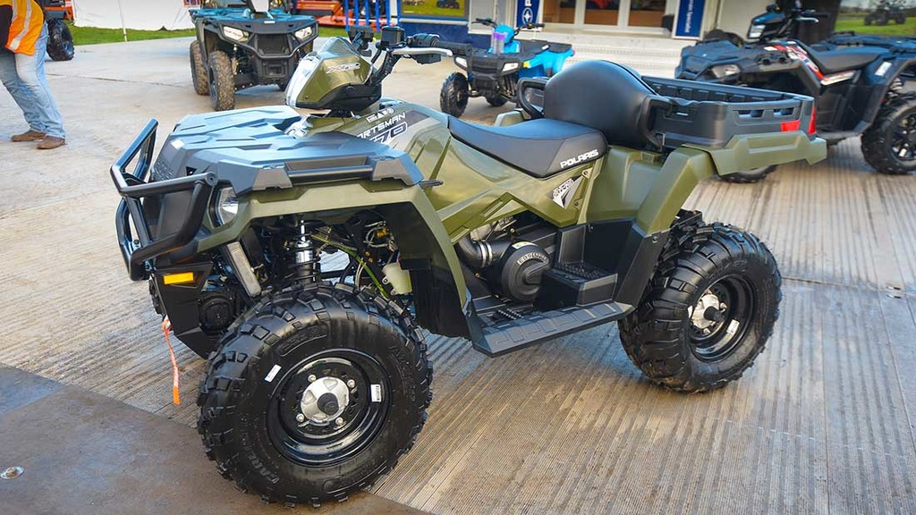 LAMMA 2017: ATVs and attachments