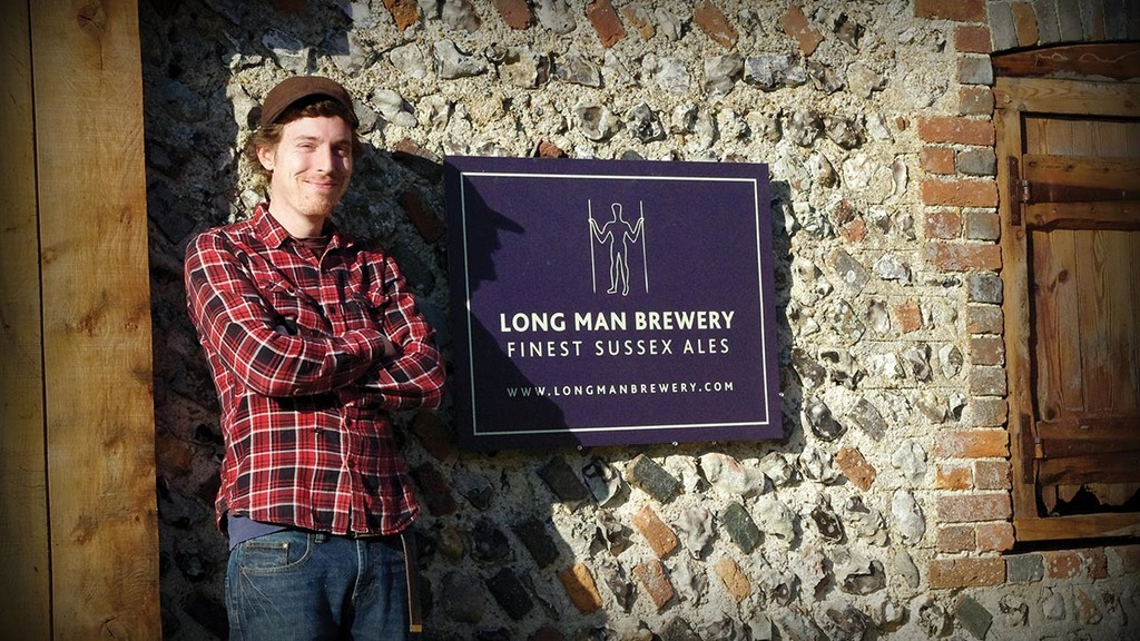 Sussex farmer brewing up a storm
