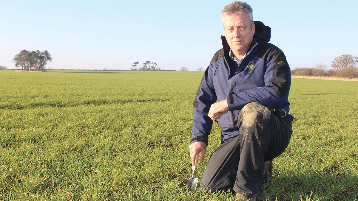 Video: Crop Walk and Talk...with Iain Sanderson
