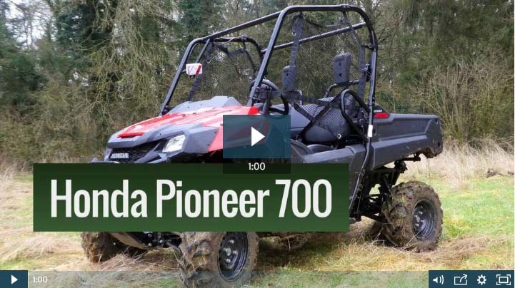 VIDEO: On-test: Honda's Pioneer UTV lands in the UK