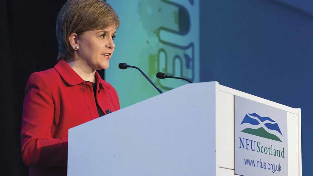 Scottish First Minister Nicola Sturgeon tells farmers to prepare for devolution battle