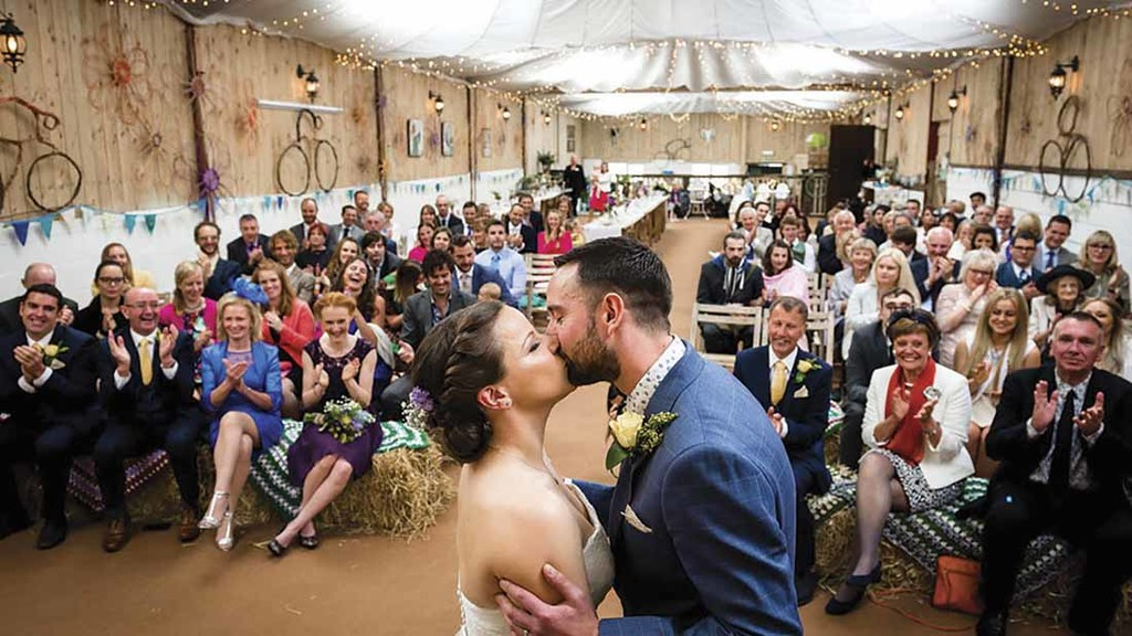 Ever thought about turning your farm into a wedding venue?