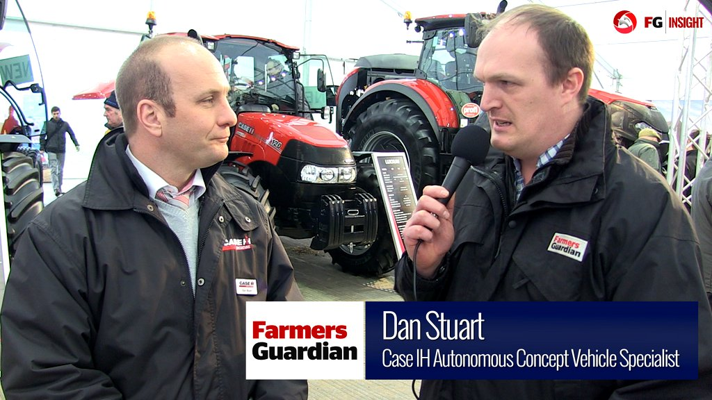 VIDEO: We talk autonomous tractors with Case IH