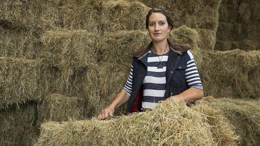 Marie Prebble: 'It is excellent to be back home farming'