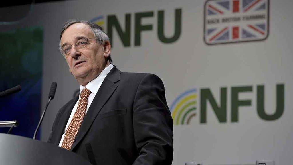 NFU confidence survey shows farmers getting Brexit jitters