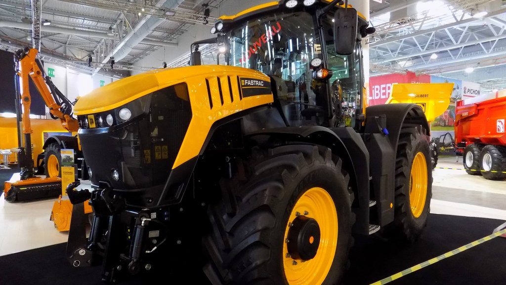 JCB 8000 Series with IsoBus
