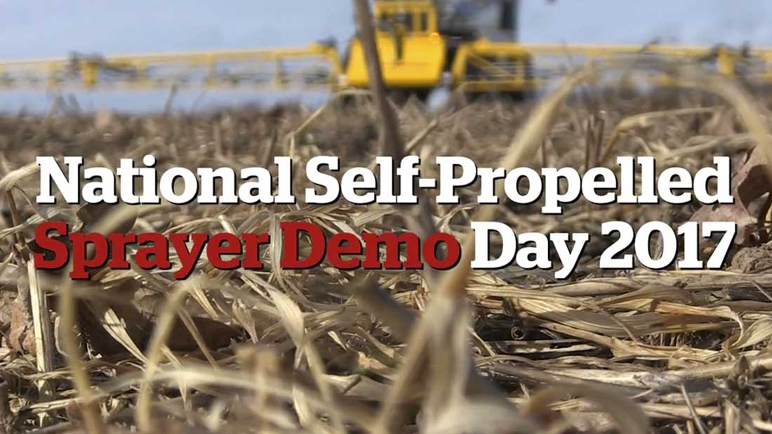 VIDEO: Sprayers compared at national demo day