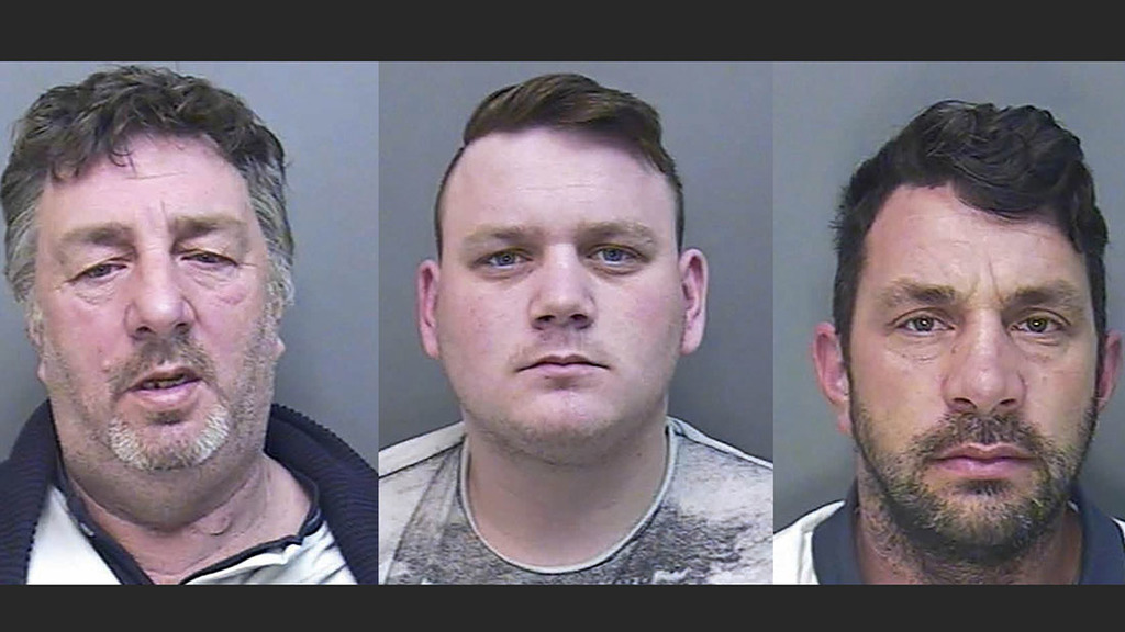 Organised gang which preyed on isolated farms is jailed