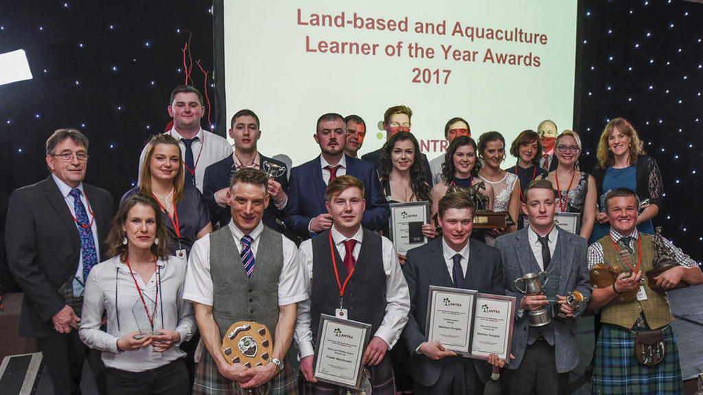 Young agricultural talent celebrated at Lantra Scotland awards