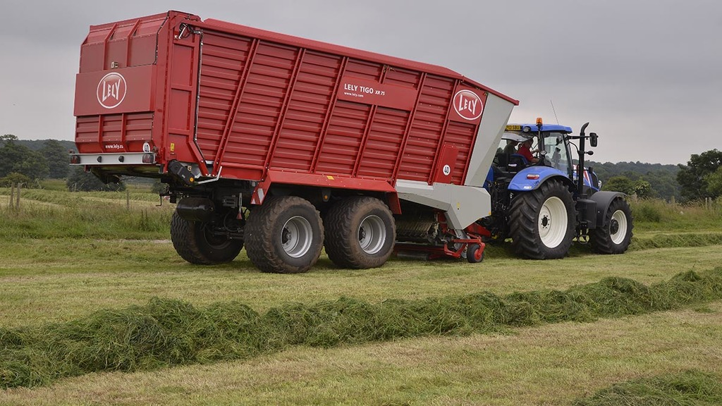 Lely plans to sell forage business to Agco