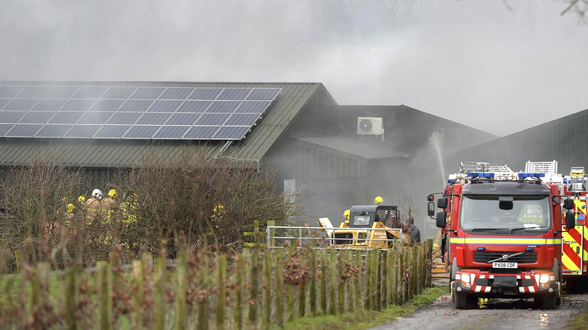 Warning issued to farmers after spate of rural arson attacks